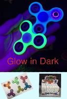 "<span style=""color:red"">High Quality</span><span Style=""color:green""> Glow in Dark</span>Fidget Spinner-- Display Box - <span style=""color:red"">Helps Relieve Stress</span>"