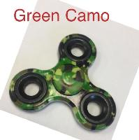 "Fidget Spinner--Green Camo - <span style=""color:red"">Price $2.25each</span>"