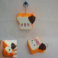 Slow Rising Squishy Toy Key Chain *Girl Bread