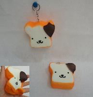Slow Rising Squishy Toy Key Chain *Boy Bread