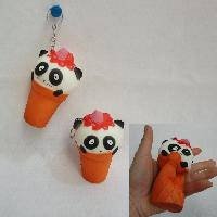 Slow Rising Squishy Toy Key Chain *Panda In Cone