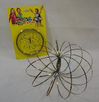 "Flow Rings Kinetic Spring Toy Rainbow - <span style=""color:red"">HOT TOY IN THE MARKET</span>"