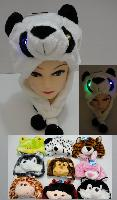 "Plush Animal Hat--Light Up - <span style=""color:red"">ON SALE </span>"