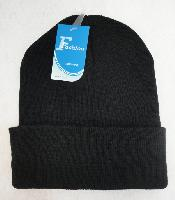 Knitted Toboggan--Black Only