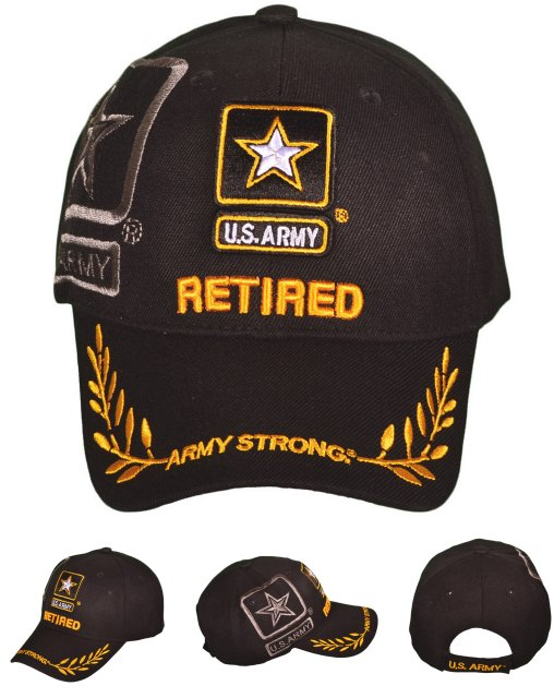 LICENSED US Army Logo Hat with Shadow [RETIRED]