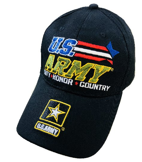 LICENSED US Army Hat *DUTY *HONOR *COUNTRY