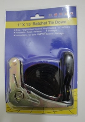 "1"" x 15' Ratchet Tie Down"