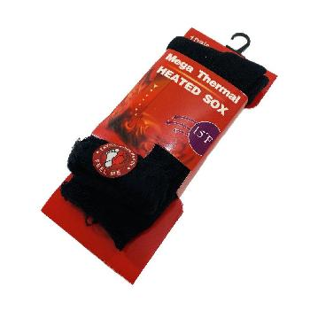 1pr Mega Thermal Heated Socks