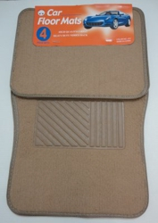 4pc Car Mats-Tan
