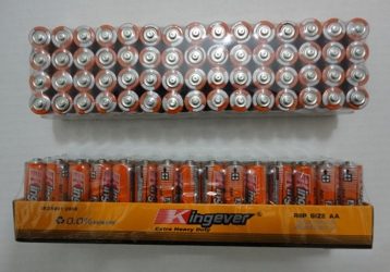 60pk AA Batteries--Kingever