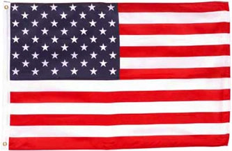 3'x5' Polyester American Flag