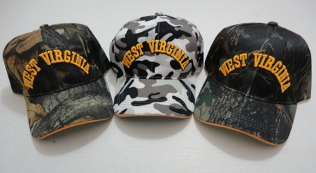 Camo West Virginia Hat