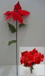 "23.5"" Poinsettia Flower"