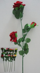 "29"" 3 Head Roses - <span style=""color:red"">Price as low as $0.95 to $0.88 each</span>"