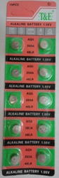 10pk AG5 Batteries