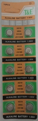 10pk AG10 Batteries