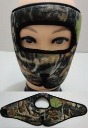 Wrap Around Face Mask [Hardwoods Camo]
