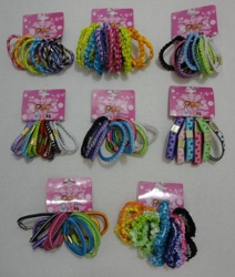 Assorted Hair Elastic Ties
