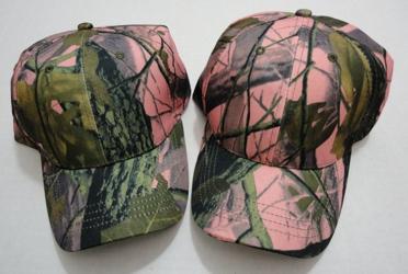Pink Hardwoods Camo Hat - Camo Only