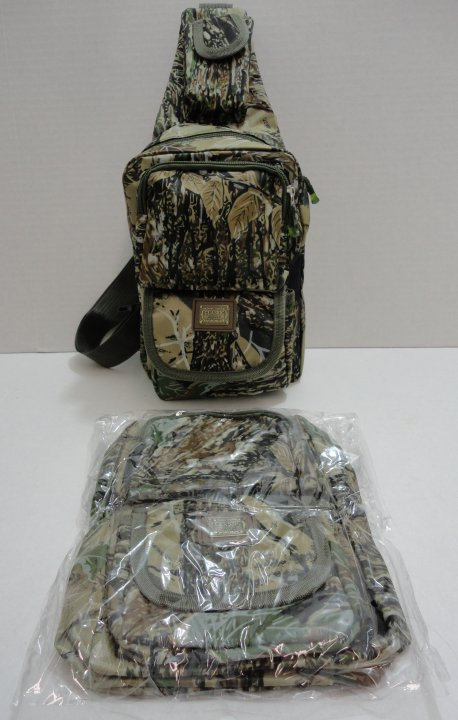 Hardwoods Camo Shoulder Bag