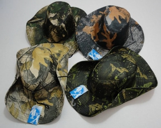 Hardwood Camo Boonie Hat - Assorted colors