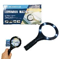 "7"" 5 LED Lighted Magnifier"