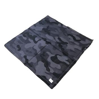 Bandana-Black & Dark Gray Camo