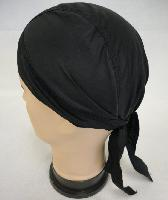 Skull Cap-Solid Black