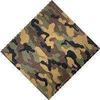 Bandana-Dk Green/Black/Tan/Brown Camo