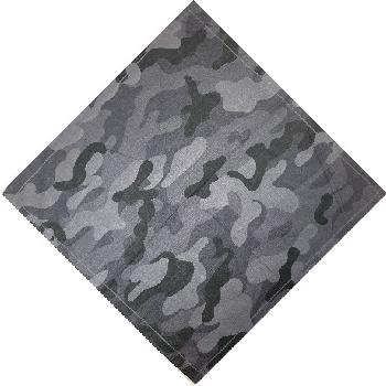 Bandana-Black/Gray Camo