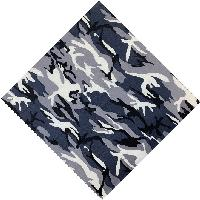 Bandana-Blue/Gray/Black/White Camo