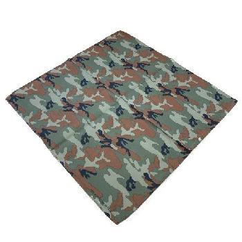 Bandana-Black /Brown /Olive /Khaki Camo