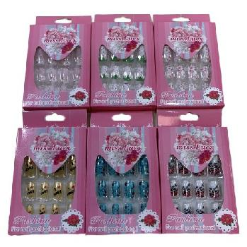 Fashion Nails [Miss Lucy Asst Prints] Pink Package