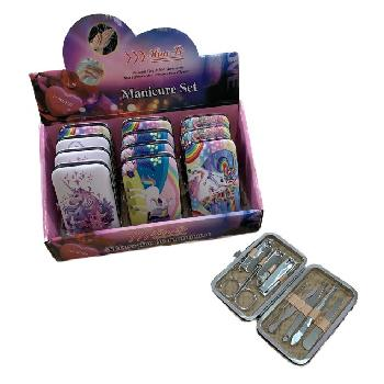 9pc Manicure Care Set [Unicorns]