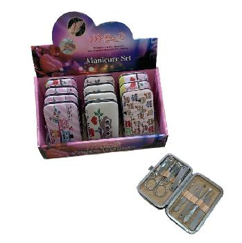 9pc Manicure Care Set [Owls]