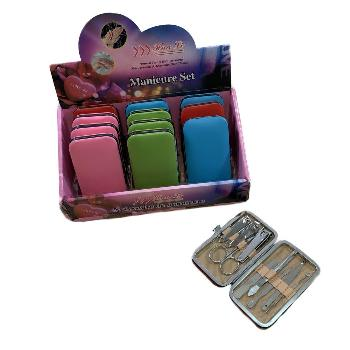 9pc Manicure Care Set [Solid Colors]