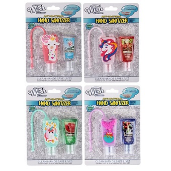 2pk Girl's Sanitizer with Refill
