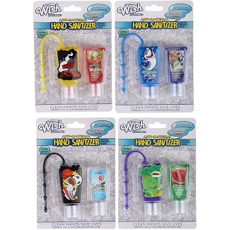 2pk Boys's Sanitizer with Refill