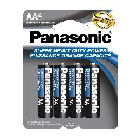 4pk Panasonic AA Batteries