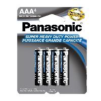 4pk Panasonic AAA Batteries