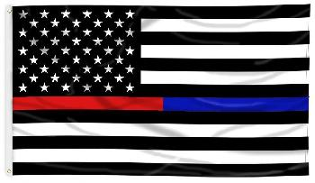 3'x5' Blue/Red Lives Matter Flag