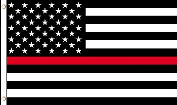 3'x5' Red Lives Matter Flag