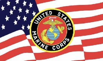 3'X5' Licensed United States Marine Corps Flag