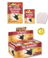 Air Activated Toe Warmers with Adhesive