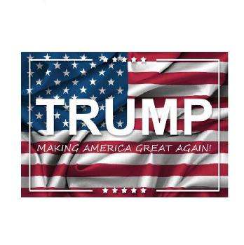 3'X5' Flag TRUMP with Flag   - Trump Flag