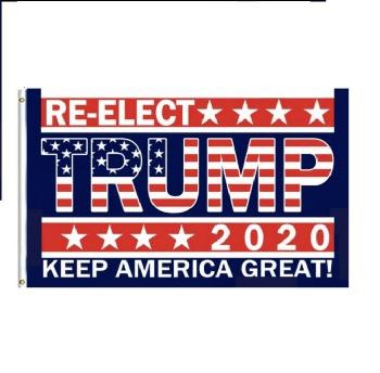 3'x5' Flag Re-Elect Trump 2020 (KeepAmericaGreat!)