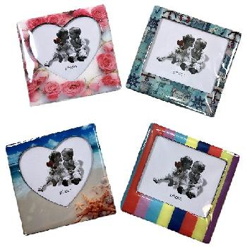 "3.68""x3.56"" Photo Frame Magnet"