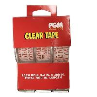 "3pk Super Clear Tape 3/4""x300"""