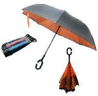 Windproof Reverse Folding Umbrella [Assorted]