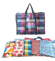 "Jumbo Printed Shopping Bag with Handles (23""x17""x7.5"")"